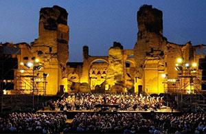 """TERME DI CARACALLA – Roma  """"Romeo e Giulietta"""" – Domenica   04  agosto    2019  –  ore  21,00"""