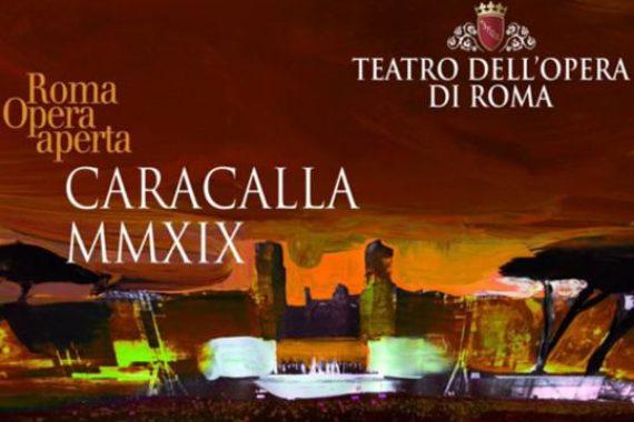 """TERME DI CARACALLA – Roma  – """"AIDA – Sabato   13  luglio  2019    ore  21,00"""
